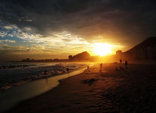 Beach at Rio de Janeiro