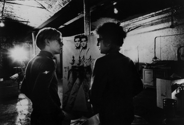 warhol-and-dylan-at-the-factory