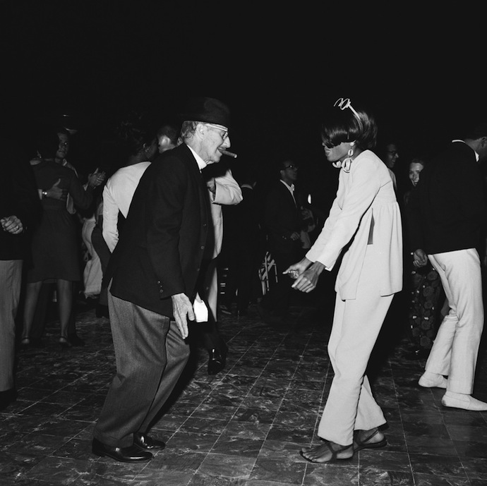 Groucho Marx and Diana Ross, 1966