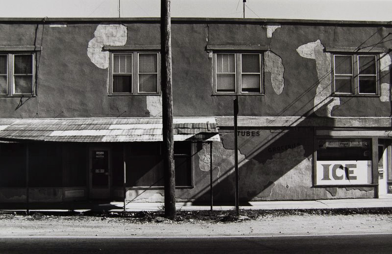 Tom Baril-After Hopper (Ice), Silver print on original mount, 16 x 20 in. (406 x 508 mm) 1977