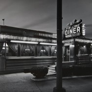 Tom Baril-Airline Diner, Queens, Silver print on original mount, 11 x 14 in. (279 x 356 mm) 1981