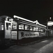 Tom Baril-Boulevard Diner, Worchester, MA, Silver print on original mount, 20 x 24 in. (508 x 610 mm) 1984