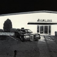 Tom Baril-Bowling, Webster, MA, Silver print on original mount, 16 x 20 in. (406 x 508 mm) 1984