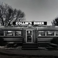 Tom Baril-Collin's Diner, Silver print on original mount, 11 x 14 in. (279 x 356 mm) 1980