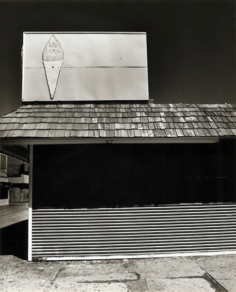 Tom Baril-Coney Island (ice cream), Silver print on original mount, 20 x 16 in. (508 x 406 mm) 1977