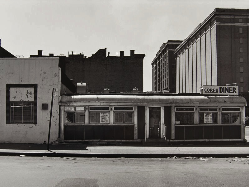 Tom Baril-Corfu Diner, NYC, Silver print on original mount, 16 x 20 in. (406 x 508 mm) 1978