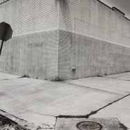 Tom Baril-Corner of Wall, Queens, NY, Silver print on original mount, 16 x 20 in. (406 x 508 mm) 1979