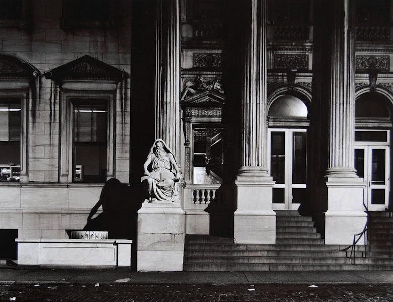 Tom Baril-Courthouse, 24th Street, New York City, Silver print on original mount, 11 x 14 in. (279 x 356 mm) 1978