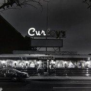 Tom Baril-Curley's, Stamford, CT, Silver print on original mount, 16 x 20 in. (406 x 508 mm) 1982