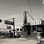 Tom Baril-Diner (Amoco), Silver print on original mount, 16 x 20 in. (406 x 508 mm) 1980