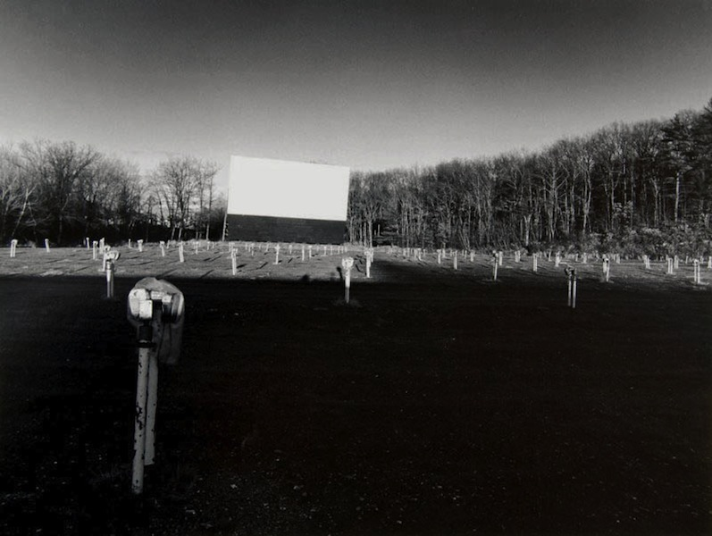 Tom Baril-Drive-In, MA, Silver print on original mount, 16 x 20 in. (406 x 508 mm) 1978