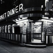 Tom Baril-Market Diner, NYC, Silver print on original mount, 11 x 14 in. (279 x 356 mm) 1980
