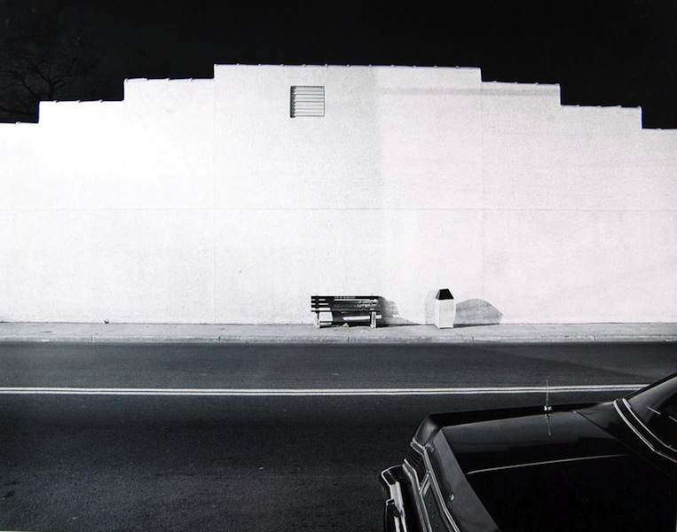 Tom Baril-Night Scene (w: Trunk), Hackensack, NJ, Silver print on original mount, 16 x 20 in. (406 x 508 mm) 1983