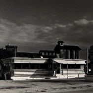 Tom Baril-Oxford Diner, MA, Silver print on original mount, 16 x 20 in. (406 x 508 mm) 1980