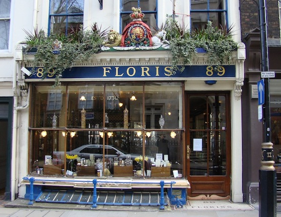 Floris London shop (actual)