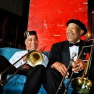 Peter Serling-Benny Powell and Al Grey, musicians, Detroit, MI