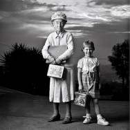 Peter Serling-Gertrude Palmer, 105 years old, and great-grandmother, Sue, 5 years old, San Diego, CA
