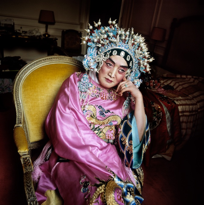 Peter Serling-Shei Pei Pu, aka M. Butterfly, Opera Diva, Paris, France