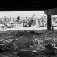 Bruce Davidson-09 1959. Under the boardwalk at Coney Island