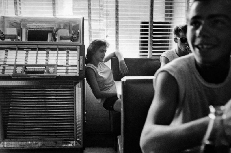 Bruce Davidson-12 New York City. 1959. Brooklyn Gang #3