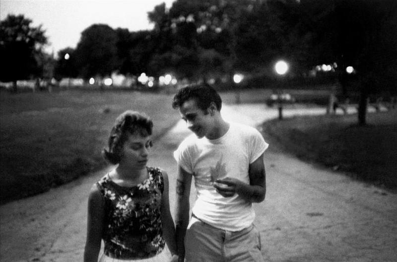Bruce Davidson-15 New York City. 1959. Brooklyn Gang #6