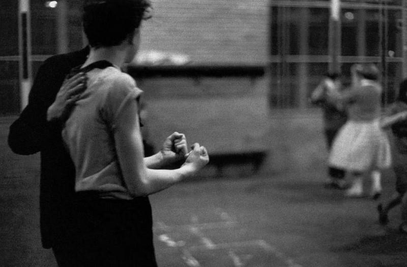 Bruce Davidson-17 New York City. 1959. Brooklyn Gang #7