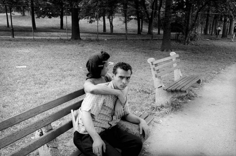Bruce Davidson-18 New York City. 1960. Central Park