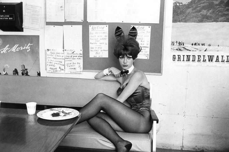 Bruce Davidson-36 1963. Playboy club