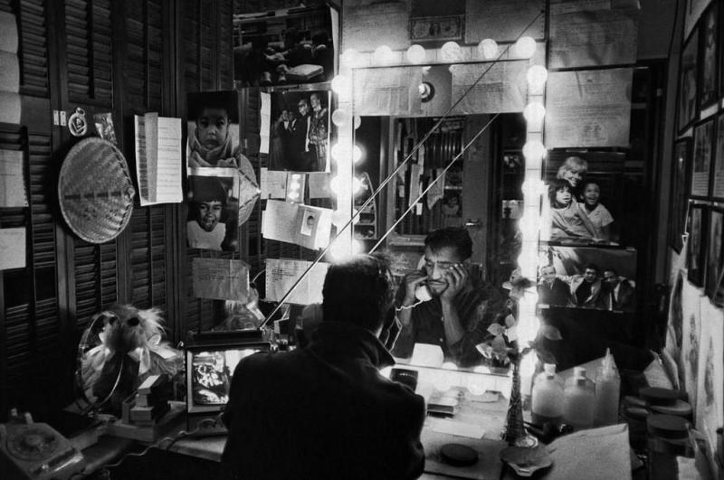 Bruce Davidson-40 New York City. 1965. Sammy Davis Jr