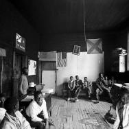 Bruce Davidson-43 Alabama. 1965. One-room schoolhouse near Selma