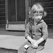 Marion Post Wolcott 04-Child of coal miner, Jere, Scotts Run, West Virginia, 1938
