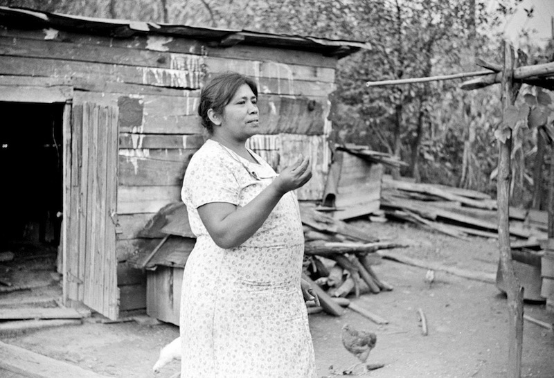 Marion Post Wolcott 07-Mexican miner's wife, Scotts Run, Bertha Hill, West Virginia, 1938