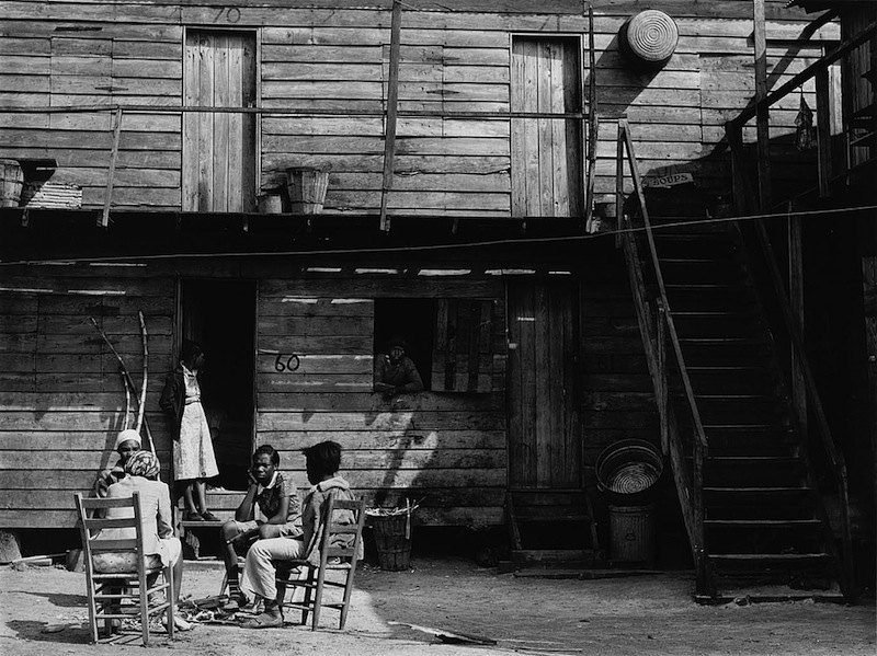 Marion Post Wolcott 22-Pahokee Hotel, migrant vegetable picker's quarters. Near Homestead, Florida, 1941