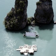 Film on the Rocks Yao Noi - Floating Cinema, Phang Nga Bay, Thailand