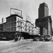 Berenice Abbott-Changing New York (1935-1938)-West Street Row - V, between Warren & Murray Streets, Manhattan, April 08, 1936