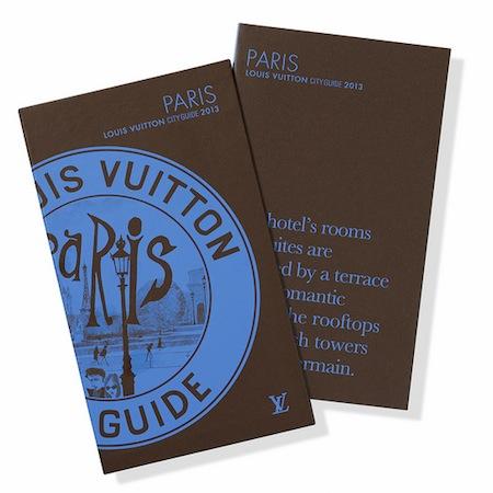 Louis Vuitton City Guides 2013-Paris