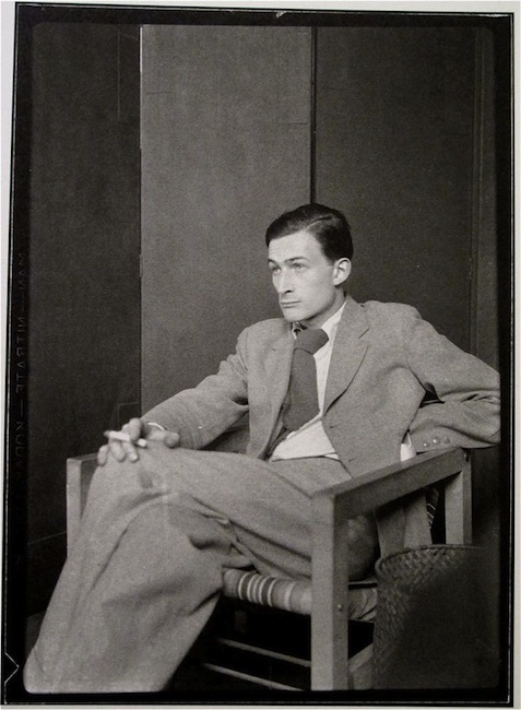 Man Ray - Balthasar Klossowski best known as -Balthus- by Emmanuel Radnitzky a.k.a Man Ray