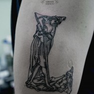 Andrey Svetov - tattoo