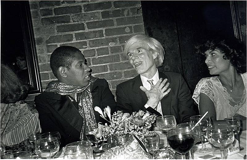 Bob Colacello - Andre Leon Talley, Warhol, and Bianca Jagger, 1981 8 x 10 in. (20.3 x 25.4 cm)
