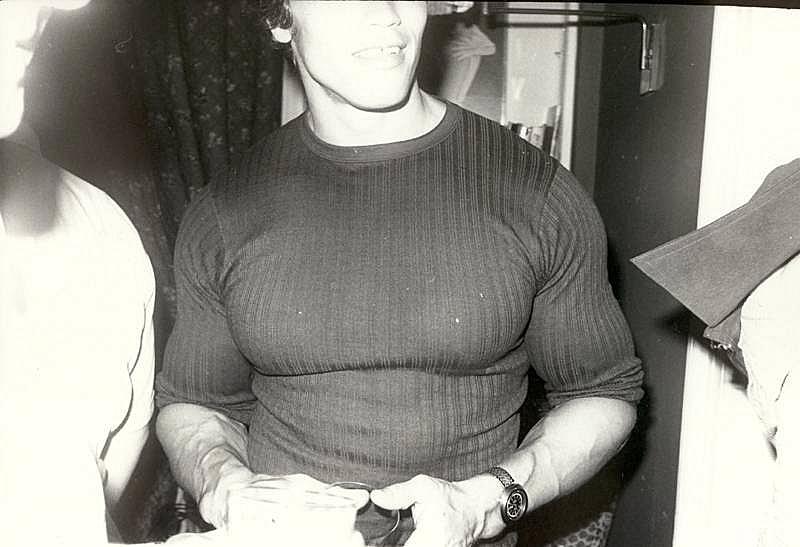 Bob Colacello - Arnold Schwarzenegger, New York, 1976 8 x 10 in. (20.3 x 25.4 cm)