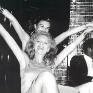 Bob Colacello - Carmen d'Alessio and Oldile Rubirosa, Xenon, New York, ca. 1975 16 x 20 in. (40.6 x 50.8 cm)