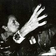 Bob Colacello - Diana Vreeland and Countess Consuelo Crespi at Doubles, 1978. 30 x 40 in. (76.2 x 101.6 cm)