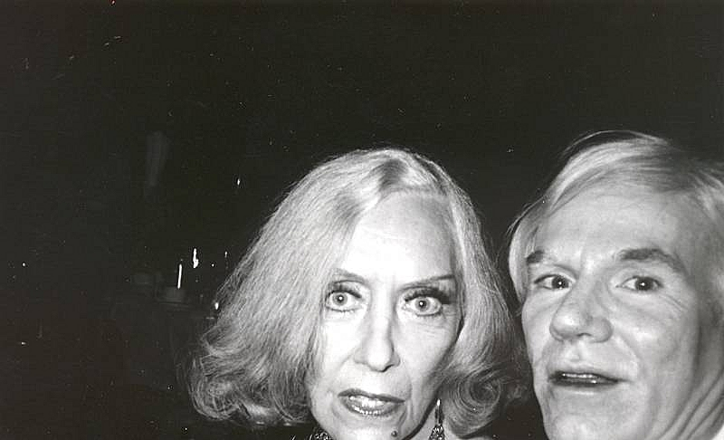 Bob Colacello - Gloria Swanson and Andy Warhol at a Cartier Party, ca. 1975 8 x 10 in. (20.3 x 25.4 cm)