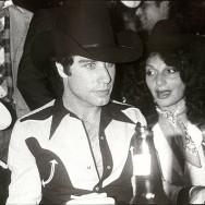 Bob Colacello - John Travolta and Diane von Furstenberg, ca. 1975 8 x 10 in. (20.3 x 25.4 cm)