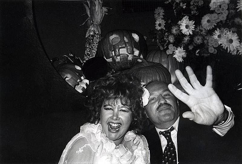 Bob Colacello - Lady Rothermere (Bubbles) and Lester Persky at Xenon's Halloween Party, 1978, 1978 16 x 20 in. (40.6 x 50.8 cm)