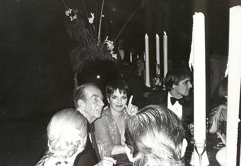 Bob Colacello - Liza and Vincente Minnelli, and Mark Gero, 1979 8 x 10 in. (20.3 x 25.4 cm)