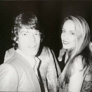 Bob Colacello - Mick Jagger and Jerry Hall, Red Ball, Paris, 1980 8 x 10 in. (20.3 x 25.4 cm)