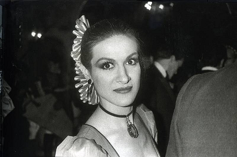 Bob Colacello - Paloma Picasso, Red Ball, Paris, 1980 16 x 20 in. (40.6 x 50.8 cm)