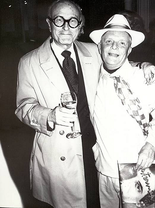 Bob Colacello - Philip Johnson and Truman Capote, ca. 1975 10 x 8 in. (25.4 x 20.3 cm)