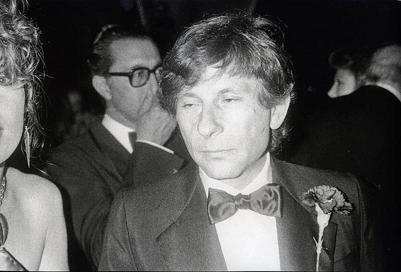 Bob Colacello - Roman Polanski at the Red Ball, Paris, 1980 16 x 20 in. (40.6 x 50.8 cm)